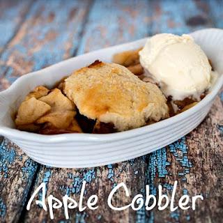 Apple Cobbler.