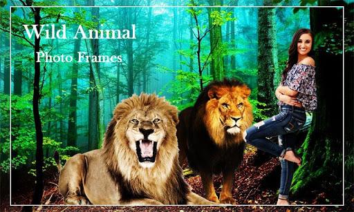 Wild Animal Photo Frames Animal Photo Editor By Funforeverapps