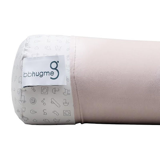 BBhugme Cover for Nursing PillowDusty Pink 2-pack
