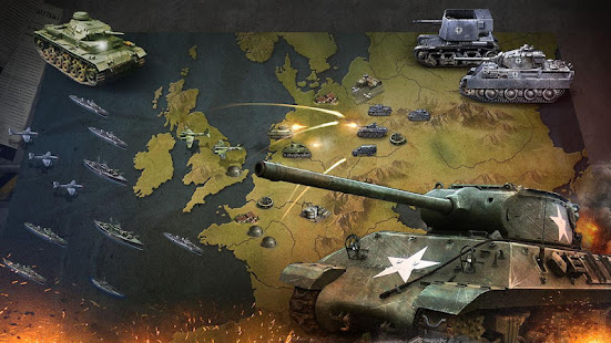 WW2 Strategy Commander Conquer Frontline v1.3 APK (Mod Unlocked) Full