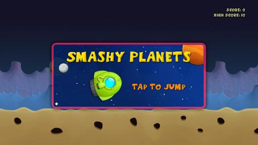Smashy Planets