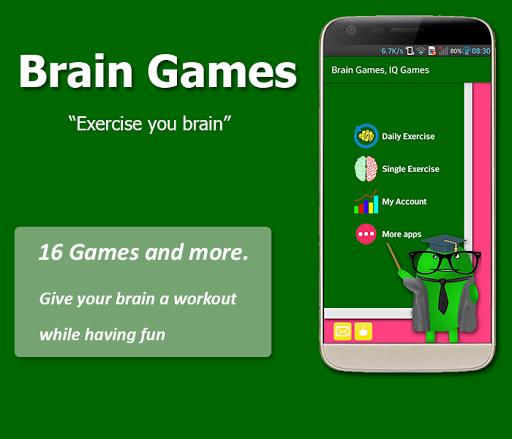 Brain Exercise Games - IQ test Apk 2