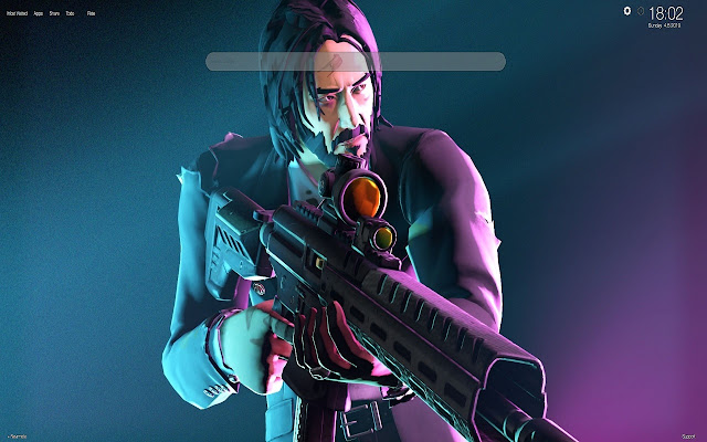 John Wick Fortnite Skin Hd Wallpapers