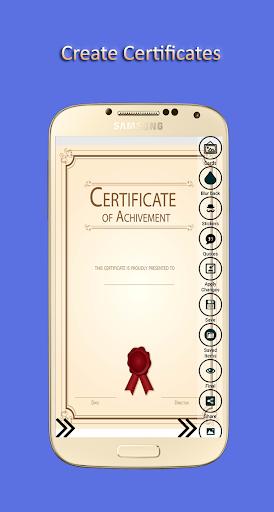 Certificate Maker 1.00.03 screenshots 1