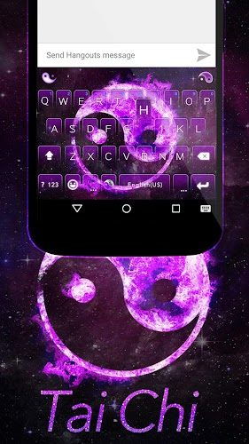Tai Chi Emoji Kika Keyboard Android App Screenshot