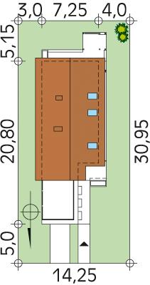 Ametyst NF40 CE - Sytuacja