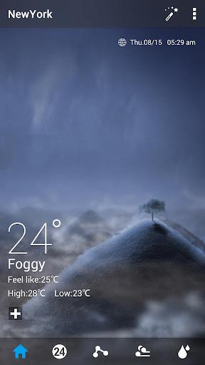 Default Dynamic 2.0 GO Weather screenshot 1