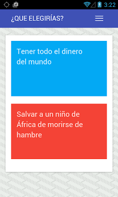 Qué Elegirías - screenshot