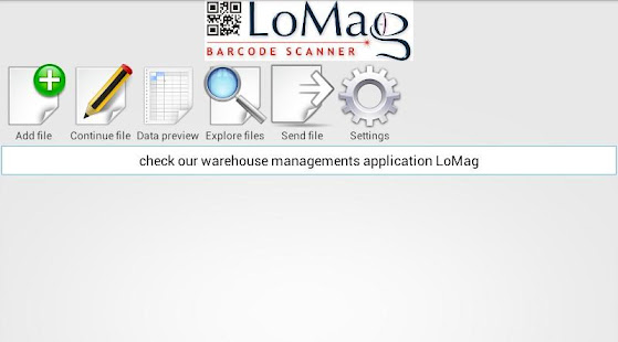LoMag Barcode Scanner to Excel - free inventory QR for PC