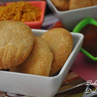 Baked Moong Daal Kachori / Baked Mung lentil Stuffed Bread