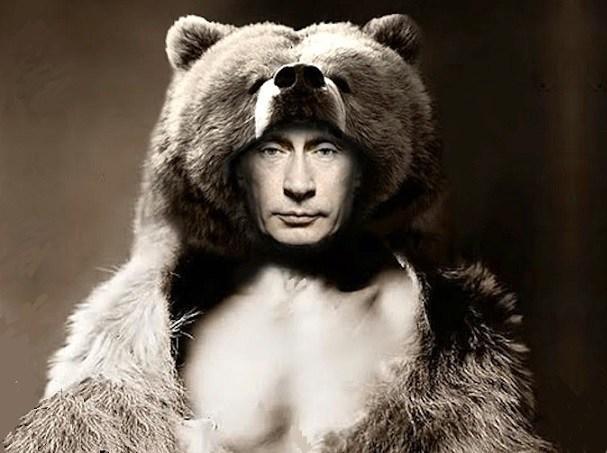 Αποτέλεσμα εικόνας για πουτιν η αρκούδα