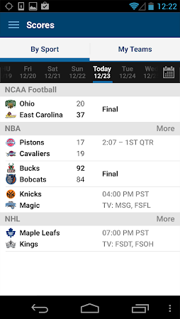 FOX Sports Mobile 2.0.4 screenshot 237193
