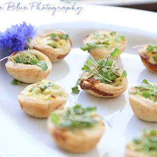 Miniature Leek & Asparagus Tart