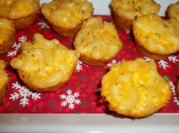 Alfredo Mac And Cheese Bites Recipe