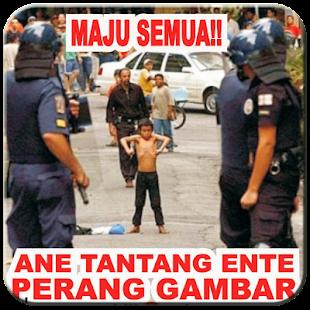 DP Perang Gambar Lucu - náhled