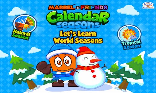 Marbel Seasons - Fun PreSchool - náhled