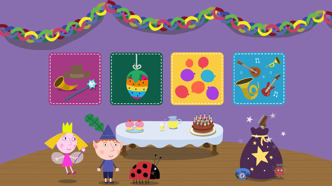 Ben & Holly: Elf & Fairy Party Android App Screenshot