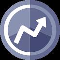 CryptoCharts Widget - Bitcoin & Altcoin Ticker icon