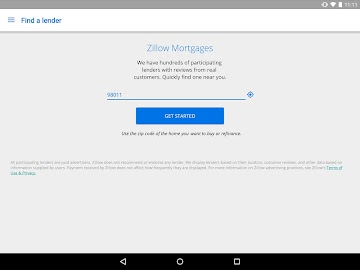 Zillow Mortgage Calculator Screenshot 8