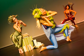 Photo: Grass Choreographer: Michelle Brown Dancers: Bethany Gee, Shelby Ogden and Lacey Wallis Photo By: Stan Plewe