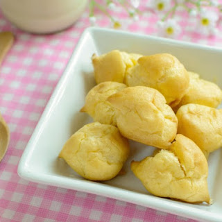 Swiss Finger Sandwich Puffs