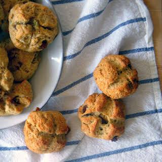 Irish Soda Bread Scones (with raisins, orange, and caraway).