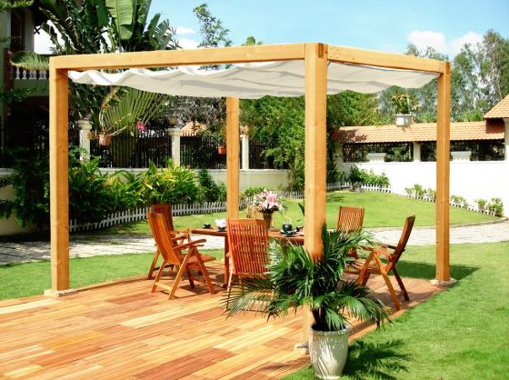 images of retractable awning