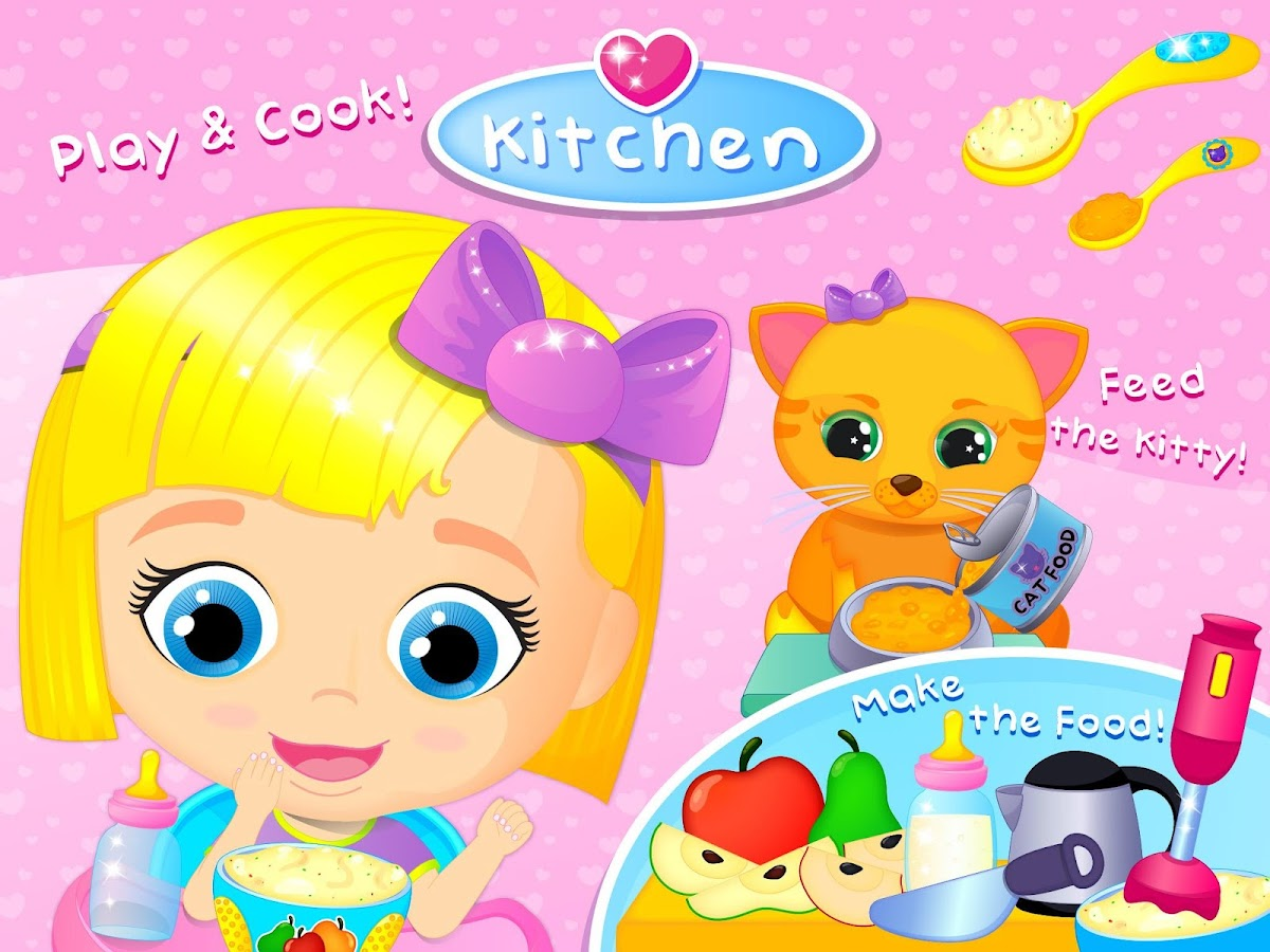 Lily & Kitty Baby Doll House- screenshot