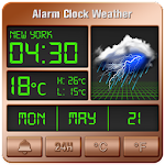 Alarm clock style weather widget 16.6.0.50022