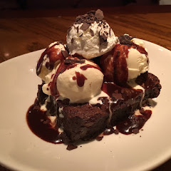 That is that wonderful Chocolate Molten Lava Brownie.