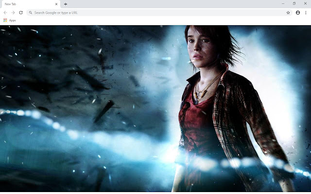 Beyond Two souls Wallpapers and New Tab