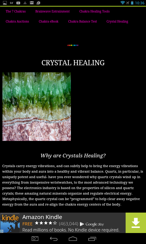 53 Magick and Healing Crystals- screenshot