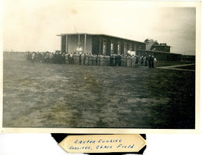 Photo: Easter Services at Chase in 1944 Photo Courtesy Don Kochi
