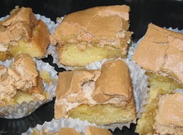 Yummies, Bars,  With Brown Sugar Meringue