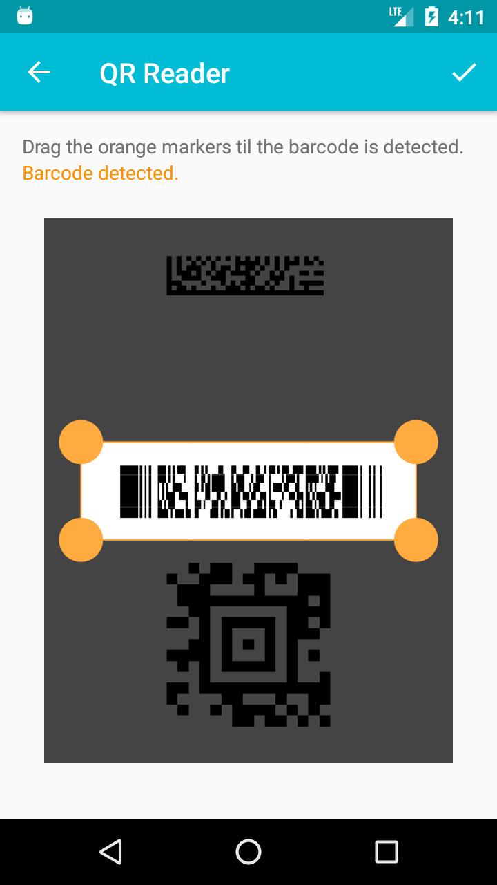 QR & Barcode Scanner (Pro) Screenshot 4