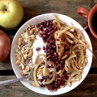 Apple Noodle Breakfast Bowl