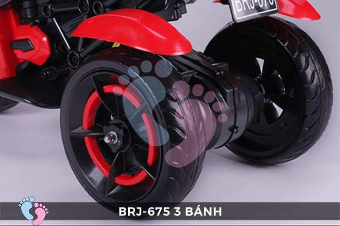 Xe moto điện trẻ em BRJ-675 3 bánh 19