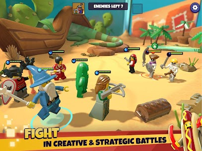 LEGO® Legacy: Heroes Unboxed Mod Apk Download For Android and Iphone 8