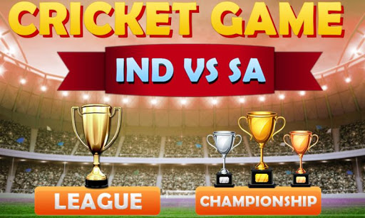 Top Cricket Game T20, T10 IND VS SA 2018 for PC