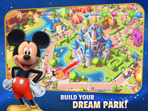 Disney Magic Kingdoms: Build Your Own Magical Park - screenshot