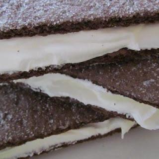 Frozen Chocolate Graham 'Ice Cream' Sandwiches