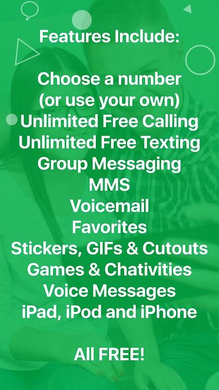 textPlus: Free Text & Calls screenshots