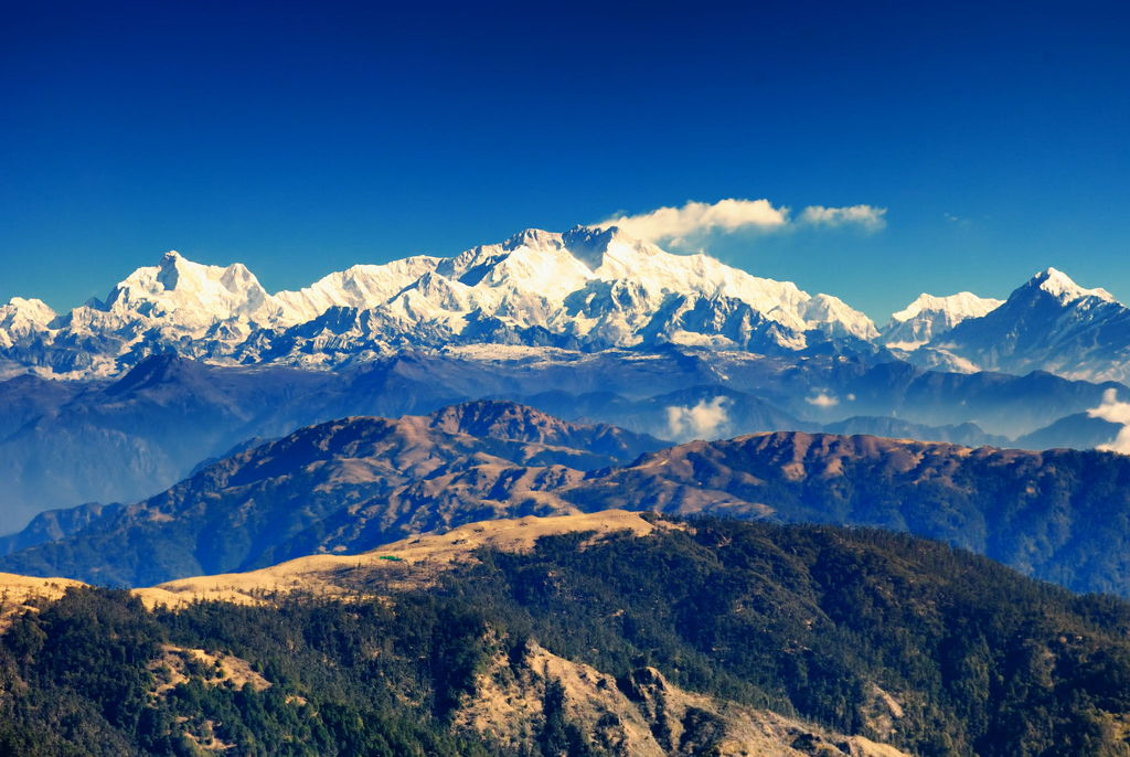 View of Kanchenjunga