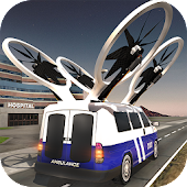 Flying Drone Ambulance