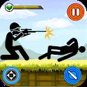 Stickman Shooting Gun Game 2020 – Shooting Games icon