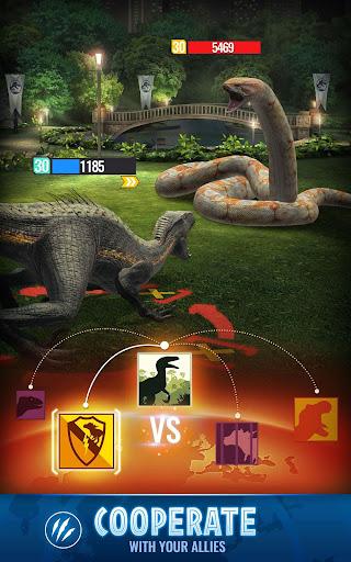 Jurassic World Alive screenshots 4