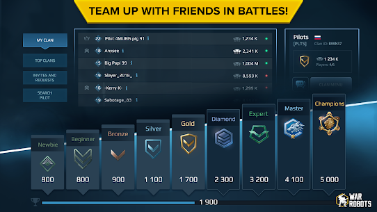 War Robots. 6v6 Tactical Multiplayer Battles 8