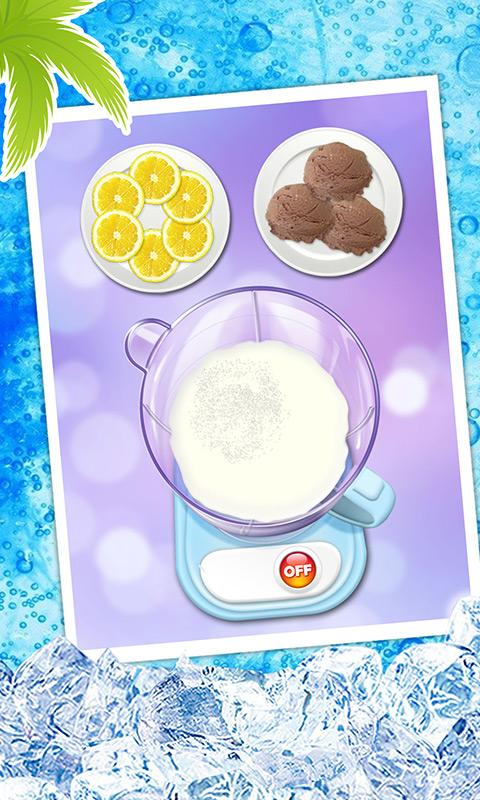 Summer Milkshake Maker Game- screenshot