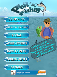 Phil's Fishin: Tournaments- screenshot thumbnail