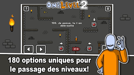 One Level 2: Stickman Jailbreak  captures d'écran 2